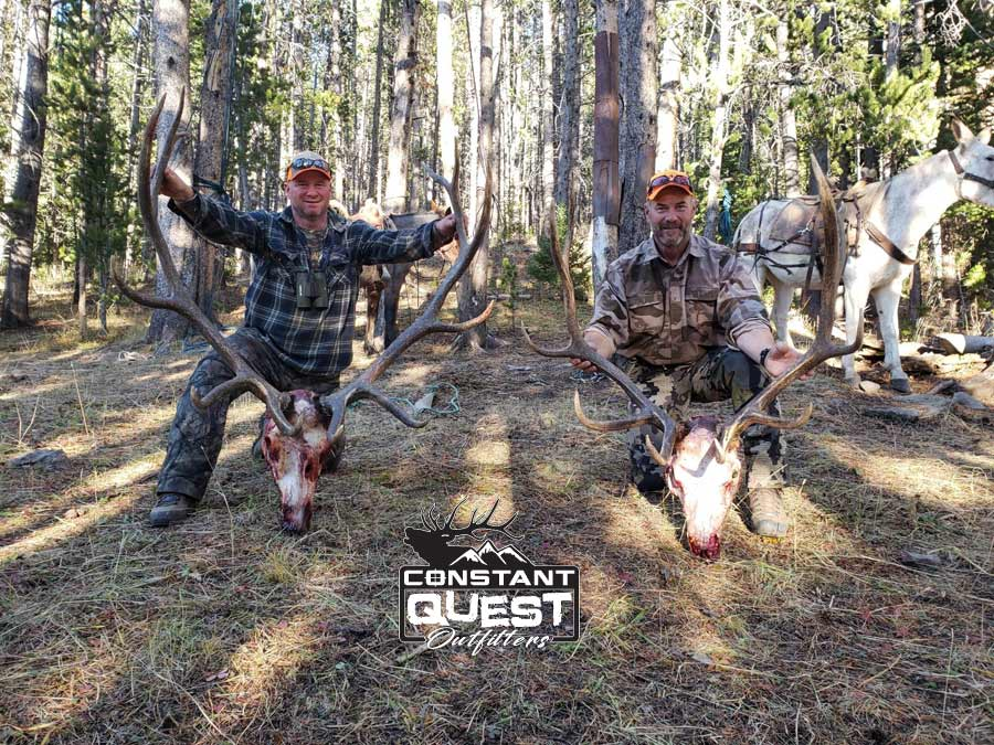 2020 - Happy Hunters - Constant Quest Outfitters Wyoming